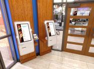Kiosk inside a Flip'd by IHOP.