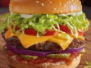 Red Robin burger.