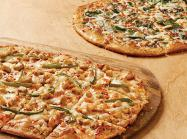 Pizza Inn flatbreads.