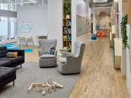 Vivvi Early Learning is a Manhattan-based childcare facility that caters to parents in the hospitality industry, offering childcare from 7 a.m. to 2 a.m.