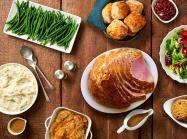 Metro Diner platter of food for Easter.