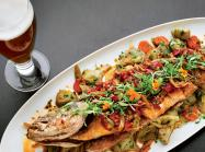 Moody Tongue was a brewery first but later added an elevated dining component to the experience, complete with chef-prepared dishes.
