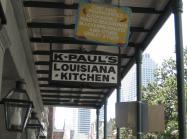 K-Paul's Louisiana Kitchen sign.