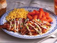 Cracker Barrel plate of food.
