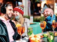 During the more temperate months, restaurants were able to move dining outdoors but blustery weather will require more creativity.