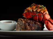 STK steak and lobster.