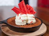 Dessert at Agave & Rye Tequila & Bourbon Hall.