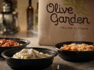 Olive Garden to-go boxes.