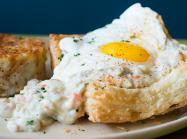 Snooze, an A.M. Eatery breakfast dish.