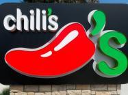 Chili's restaurant sign.