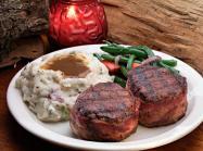 Tahoe Joe's steak.