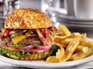 Denny's Bourbon Bacon Burger.