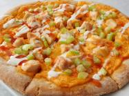 Buffalo Chicken Pizza at The Greene Turtle restaurant.