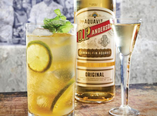 Aquavit has been produced in Scandinavia since the 15th Century.