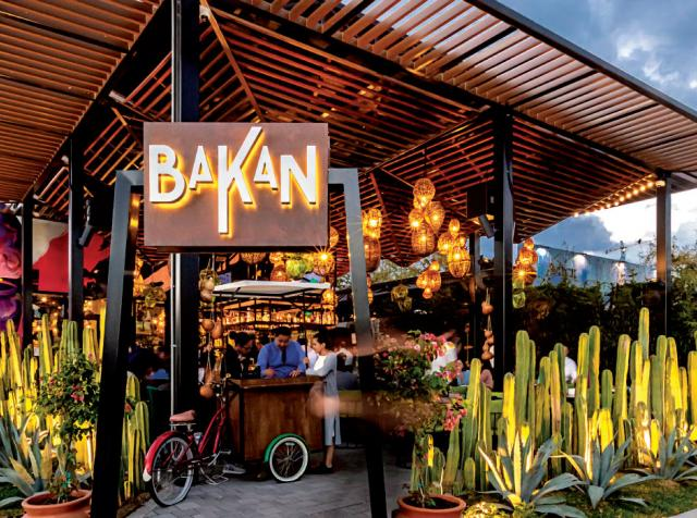 In miami, Bakan's existing indoor-outdoor bar proved a winning design element during the pandemic.