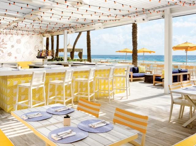During the pandemic, Eau Palm Beach Resort and its on-site restaurants have become a safe Escape for Guests and Locals.