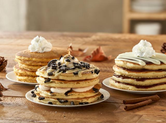 IHOP seasonal pancakes.