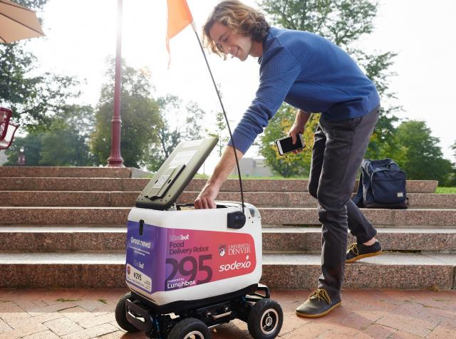 Lunchbox robots with Sodexo.