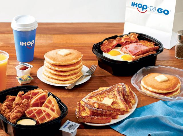 IHOP had invested in off-premises long before COVID-19.