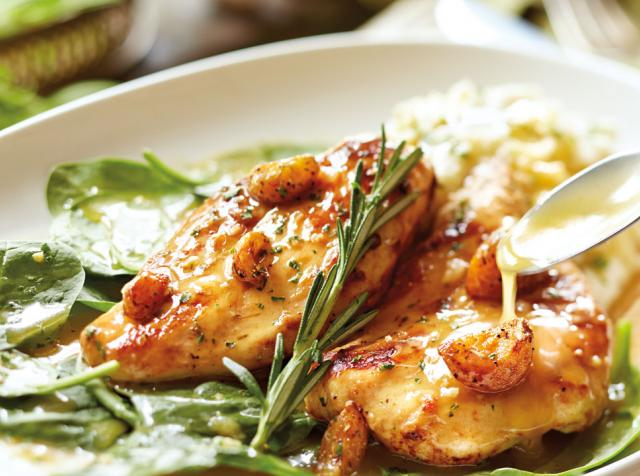 Olive Garden's Garlic Rosemary Chicken