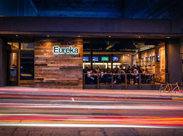 Exterior of Eureka's Berkley location