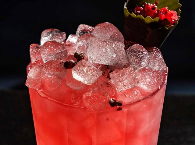 Little Rituals in Arizona offers guests a red currant fix with this cocktail.