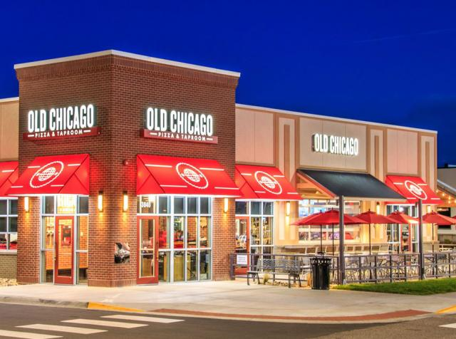Old Chicago Pizza & Taproom restaurant.