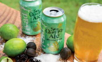 Black limes and sea salt add a certain health halo to Dogfish Head's Sea Quench Ale.