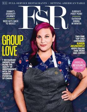 Most recent cover of FSR Magazine