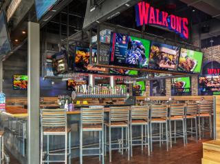 The interior of a Walk-On's Bistreaux & Bar restaurant.