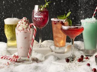 Holiday cocktails from TGI Fridays.