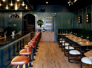 Newly opened Good Fortune serves a mix of Midwestern and Mediterranean fare in a British pub–styled space.