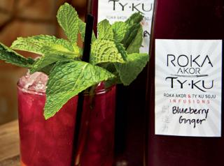 Roka Akor has embraced the shochu trend, even going so far as to make its own infusions.