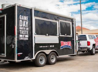 Walk-On's Sports Bistreaux food truck.