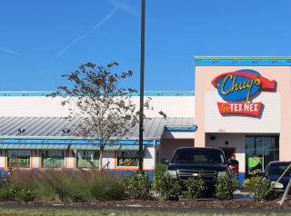 Exterior of a Chuy's restaurant.