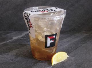 TGI Fridays to-go drink.