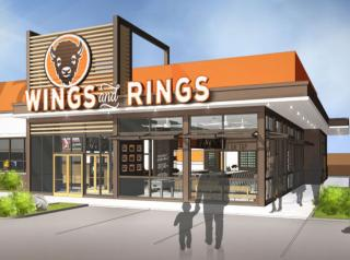 Buffalo Wings & Rings prototype store.