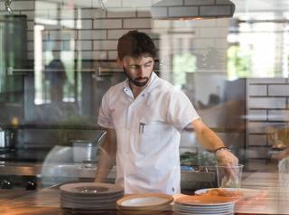 River House at Odette's Chef Adam Sheff,