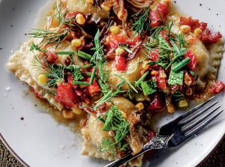 Fable Lounge is leaning into seasonal ingredients for dishes like its housemade ricotta ravioli.