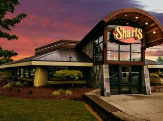 Shari's exterior of restaurant.
