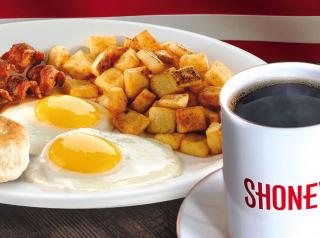 Shoney's breakfast.