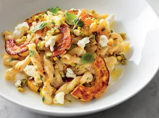 Delicata Squash Gemelli Pasta, A Dish by Keith Brunell.