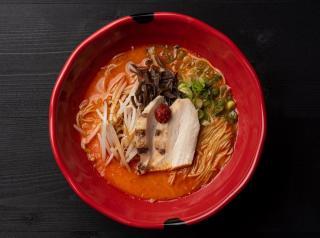 bushi by JINYA bowl of ramen.