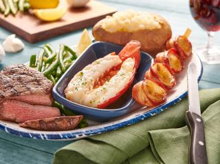 Red Lobster surf and turf.