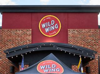 Wild Wing Cafe exterior.