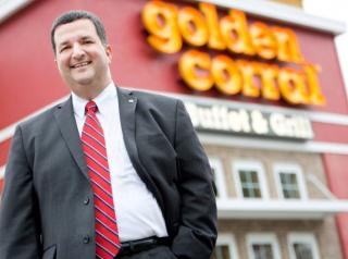 Golden Corral CEO Lance Trenary.