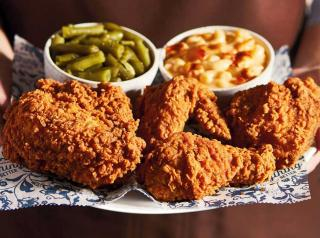 Cracker Barrel fried chicken