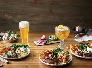 Applebee's Neighborhood Grill + Bar unveils delicious line of Topped Steaks & Twisted Potatoes entrees.