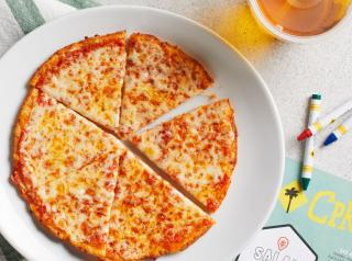 Cauliflower Pizza Crust can be ordered on any CPKids or Lunch Duo pizza.