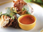 Sweet & Spicy Pork Summer Rolls